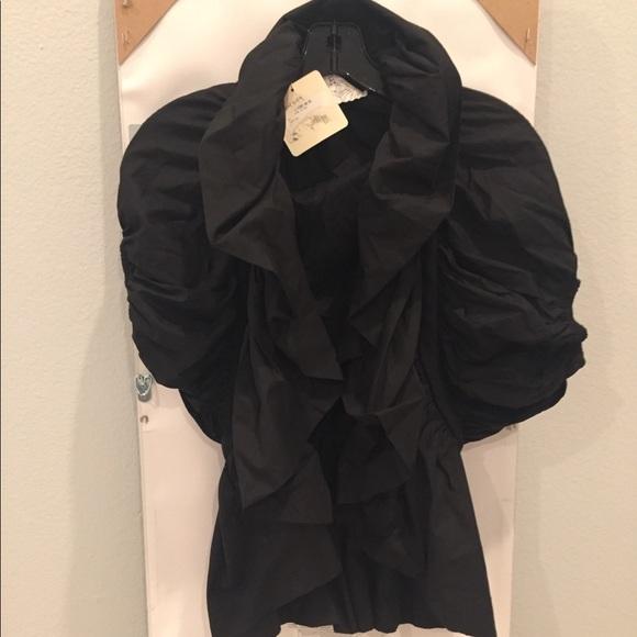 Ryu Jackets & Blazers - Ryu Ruffled Jacket